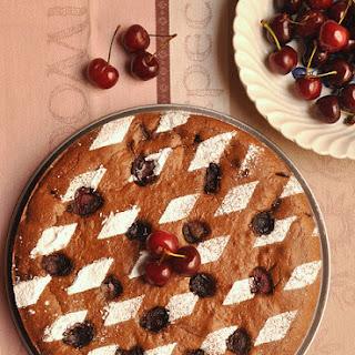 Dark Cherry & Brie Clafoutis