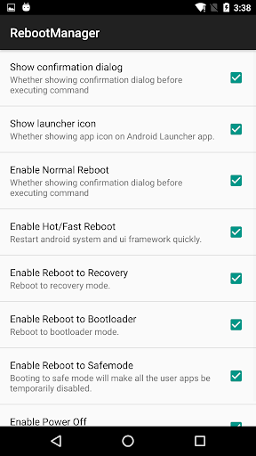 Reboot Manager (*ROOT*) 2.1.3 screenshots 3