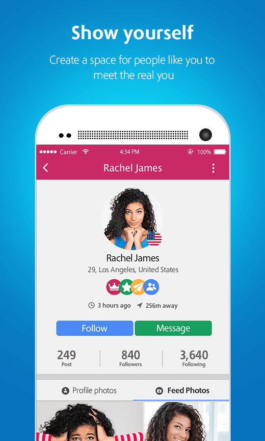 Moovz: Social Network for Gay, Lesbian, Bi & Trans- screenshot