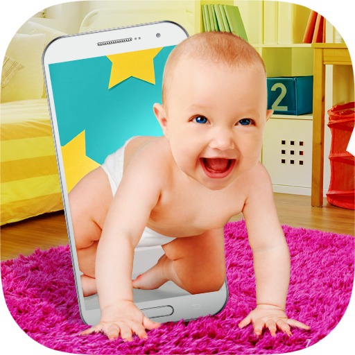 Baby in Phone Prank - Virtual baby