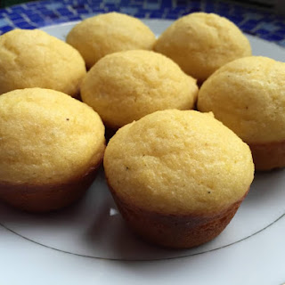 Sweet Honey Mini Corn Muffins from Alexandersmom.com