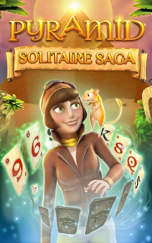 11 Pyramid Solitaire Saga App screenshot