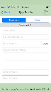 AccXchange PRO screenshot