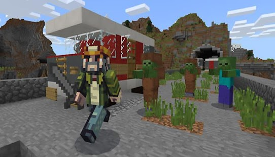 Proper Apocalypse Addon Minecraft PE MCPE - náhled