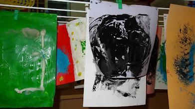 """Photo: """"Druck mich"""" Kreativ Werkstatt Karin Siakkos Foto: G. Zimmer"""