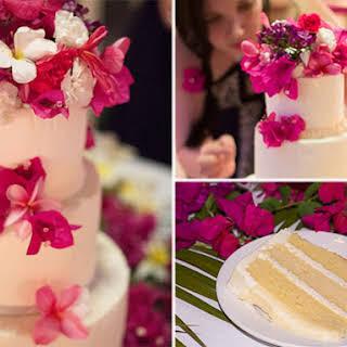 Wedding Cake Vanilla Italian Buttercream.