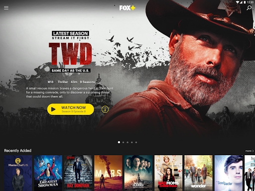 Screenshot for FOX+ | Movies, Series, Live Sports in Hong Kong Play Store