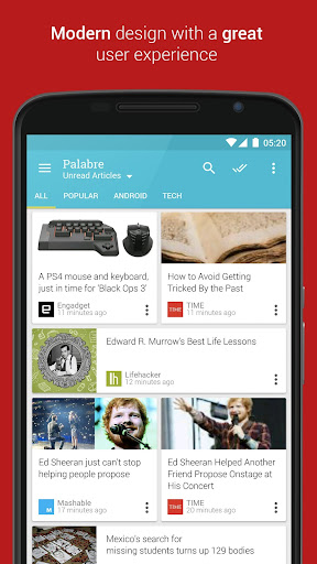Palabre RSS Feedly 阅读器