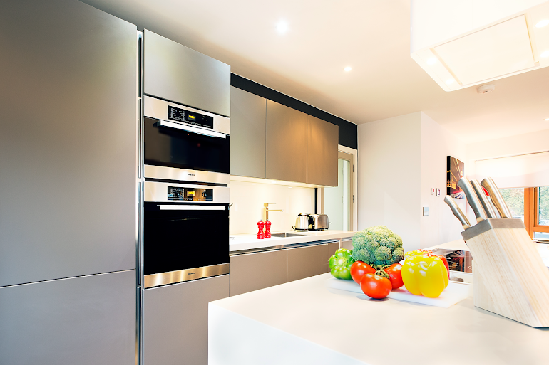 Kitchen at City of London apartment