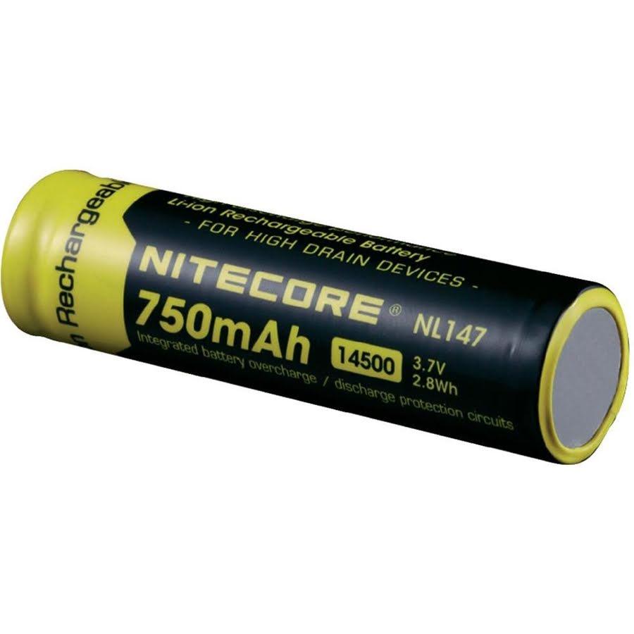 Batteri Nitecore Li-Ion 3,7V, 750 mAh med krets