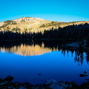 Goodwin Lake by Robyn Vincent - Landscapes Mountains & Hills