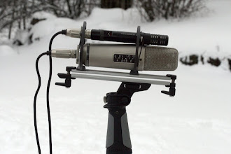 Photo: Mid-side setup with Rode NT2a (side mic) and Sennheiser ME64 (mid mic)