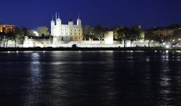 Photo: Tower of London at night