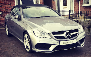 Mercedes-Benz E220 Convertible Rent Yorkshire & North Lincolnshire