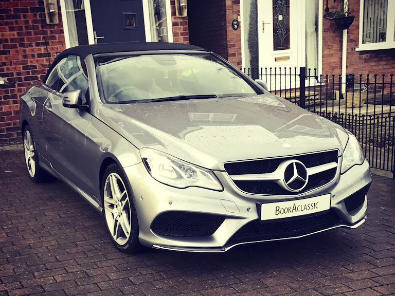 Mercedes Benz E220 Convertible Hire Hull