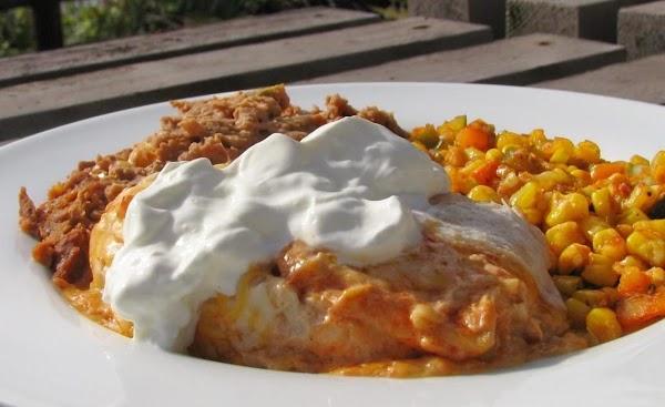 Super Turkey Enchiladas Recipe
