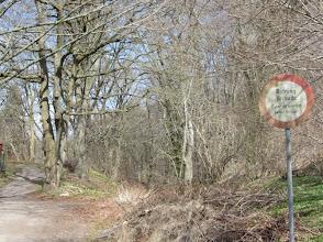 Photo: Ridning (Reiten), Cykel (Fahrrrad ) und Moped (Knallert) körseln (fahren) ist hier nicht erlaubt