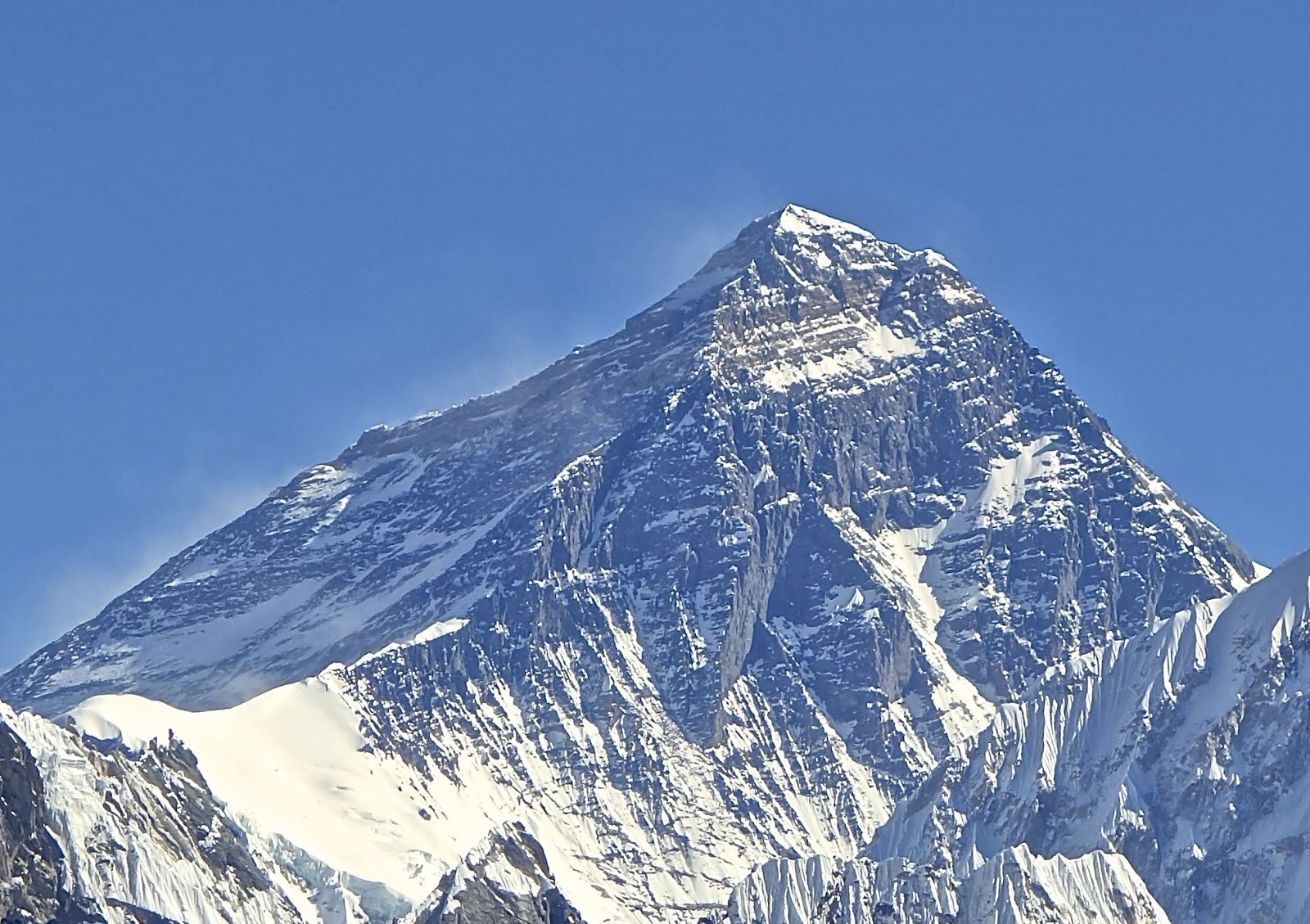 Western side of Mount Everest