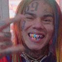 6ix9ine rap star HD wallpaper new label theme