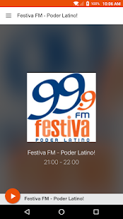 Festiva FM - Poder Latino!- screenshot thumbnail