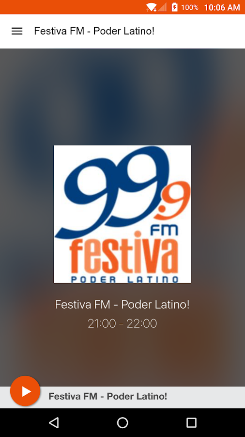 Festiva FM - Poder Latino!- screenshot