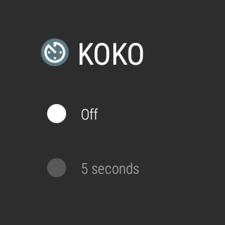 KOKO for Android Wear