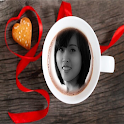 Photo In Coffee Cup Frames icon