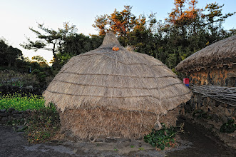 Photo: Can you imagine living inside one of these? What is the pumpkin doing up there?!