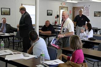 Photo: City of Beverly Mayor William Scanlon thanks the visitors.