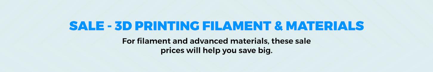 Sale - 3D Printing Filament & Materials