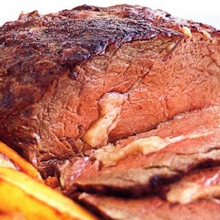Basic Roast Beef & Vegetables.