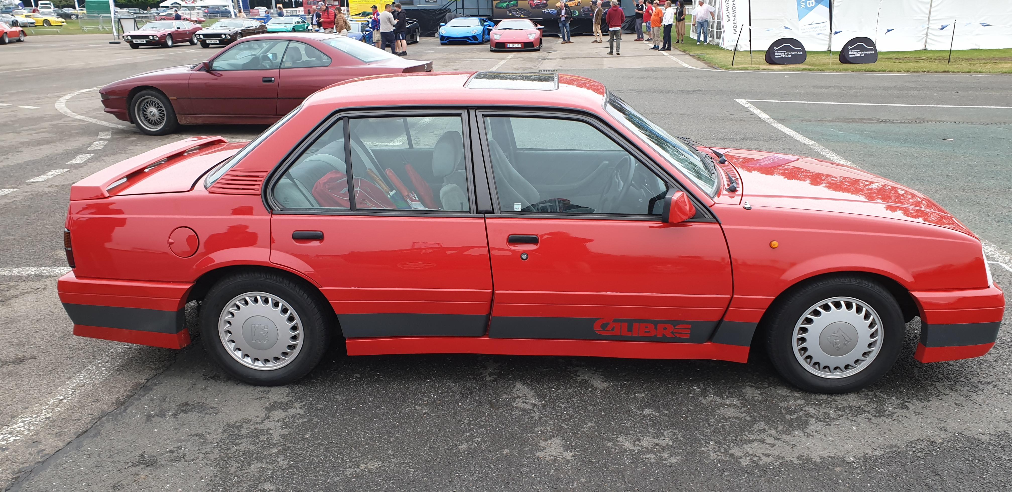 Vauxhall Cavalier Mk2 Calibre Hire Milton Keynes