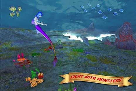 Cute Princess Mermaid World screenshot