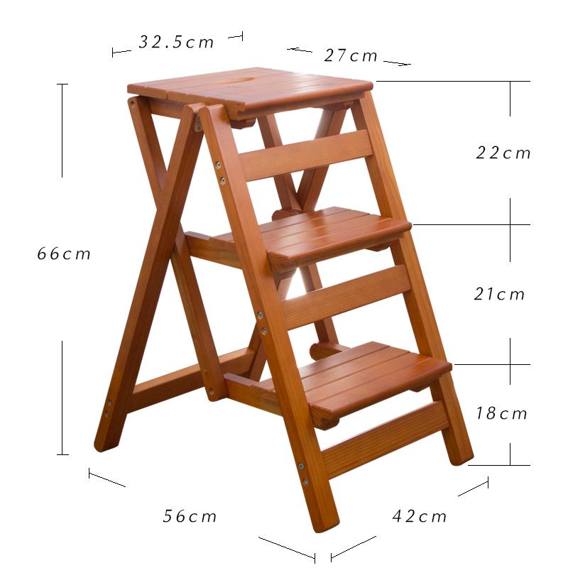 Стул-стремянка (стул-лестница) размеры