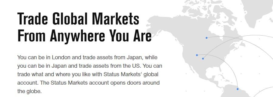 Status Markets scam broker review news