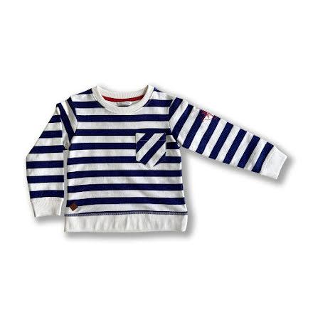 Otto - Randig sweatshirt till barn