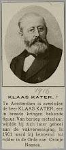Foto: Klaas Kater verloor de strijd tegen Talma c.s.,  niet alleen in 'Patrimonium' maar ook in de ARP.  Zijn ideeën over een harmonieuze oplossing  van de sociale kwestie hielden weinig verband met de werkelijkheid.Klaas Kater
