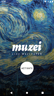 Muzei Live Wallpaper Capture d'écran
