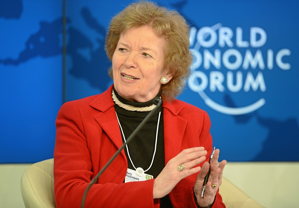 Mary Robinson to lead probe into African Development Bank head