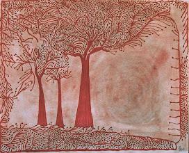 "Photo: Illusive Perceptions - Perfect Harmony 22"" x 28"" 2000 - 2004 Pen & Ink on paper"