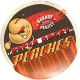 Logo of Garage Project Angry Peaches