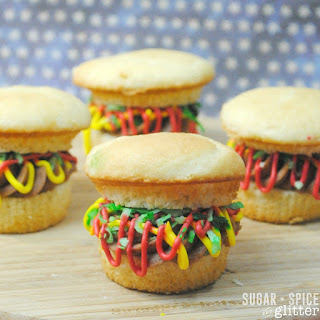 How to Make Burger Cupcakes