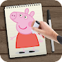 How To Draw Peppa Pig APK icon