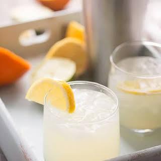 Lemon Lime Virgin Margarita.