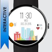 Israel Watch Face: Interactive