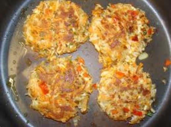 Fried Carrot Patties Recipe