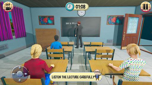 Virtual High School Girl Game- School Simulator 3D 1.0.0 screenshots 4