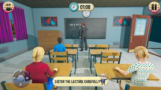 Virtual High School Girl Game 3D MOD (Unlimited Money) 4