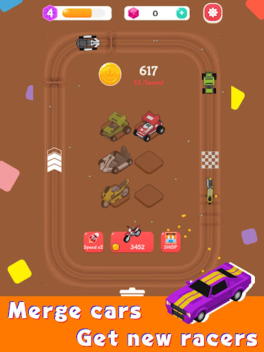 Merge Car Racer - Idle Rally Empire 2.7.0 screenshots 8