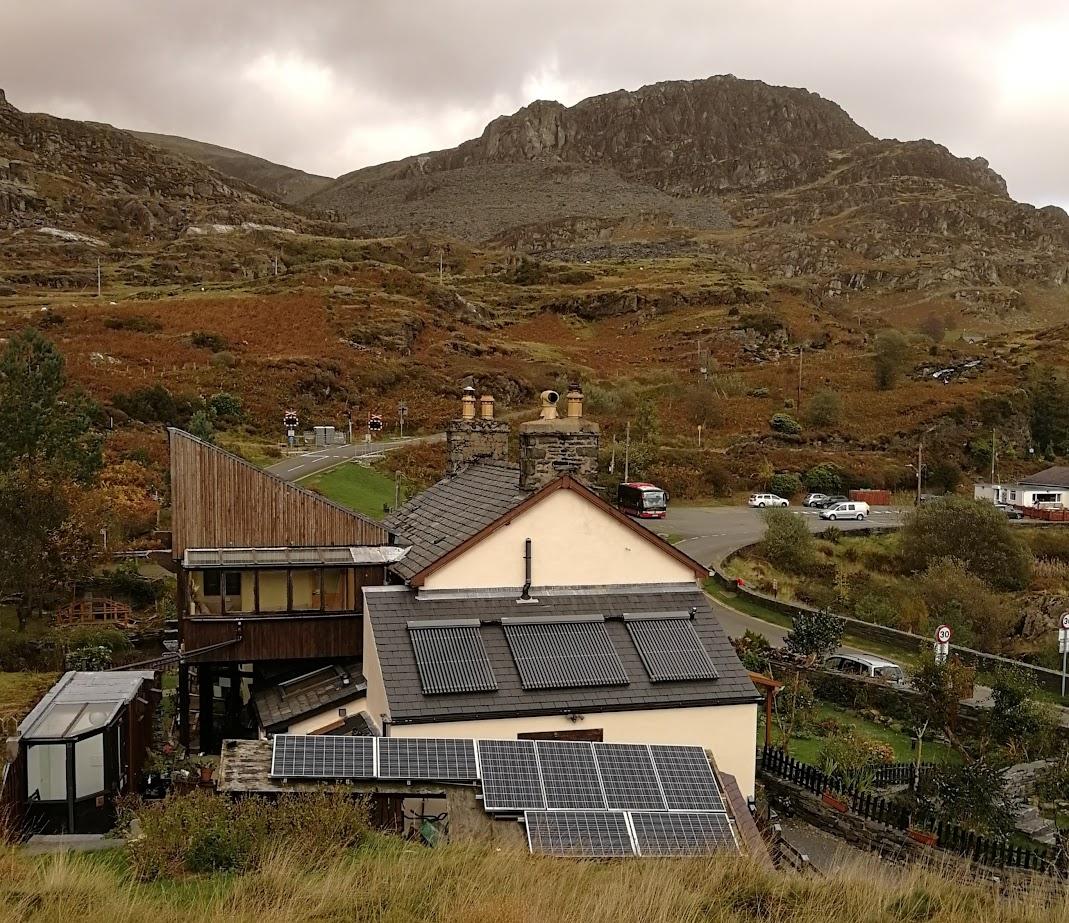 Bryn Elltyd - ekologinen majatalo